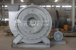 According to the requirements of client, technology department carry out the special design for high pressure fans by increasing the sealing ring to prevent gas leakage in production line's project of Iran steel mill.