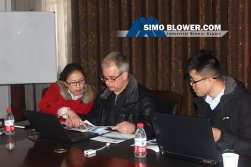 Cooperating with SIMO BLOWER on the initial journey