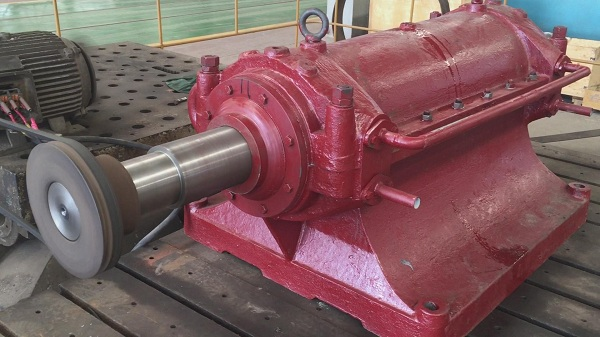 Industrial centrifugal fan core part——bearing housing's assembly