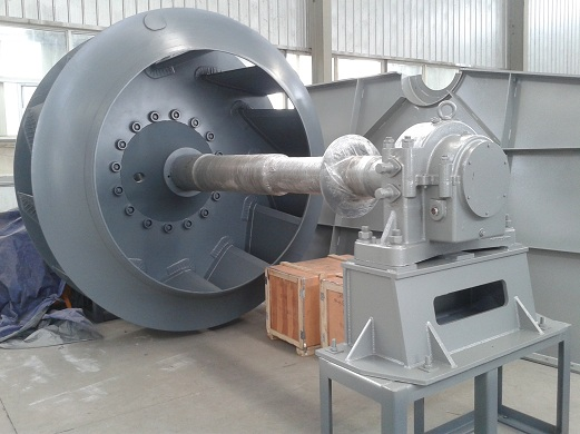 Will the size of the centrifugal fan affect the work efficiency of the machine?
