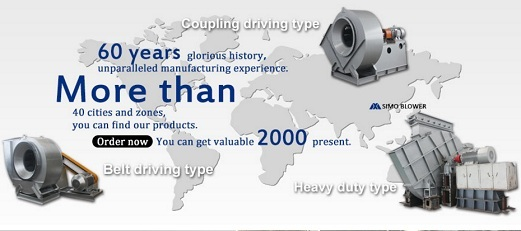 Centrifugal Fan Product Export