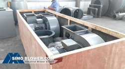How to pack the whole centrifugal fan?