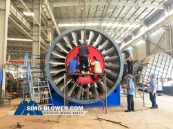 ANX3750 axial fan is delivered