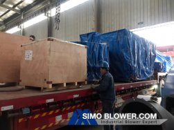 Centrifugal fans shipped to Mongolia