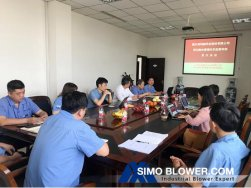 The first audit of Integration Management System In SIMO Blower