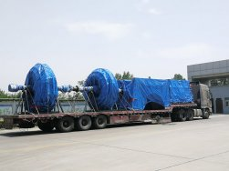 SIMO Blower's high-temperature heavy duty kiln tail centrifugal fan is delivered as scheduled
