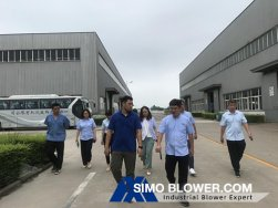 Xinxiang Great Wall Machinery Co.,Ltd visit SIMO Blower