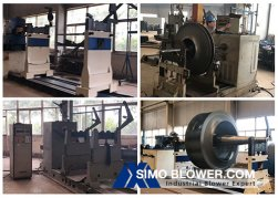 SIMO Blower takes you to visit the factory--Dynamic balance process