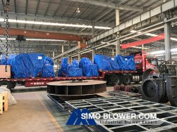 Shipment of centrifugal fans to Pakistan