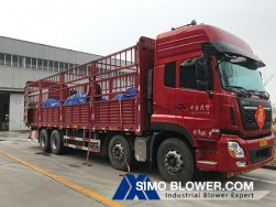 The second batch of Centrifugal fans for Guatemala users has been loaded and shipped