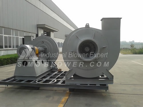 Industrial blower to Japan