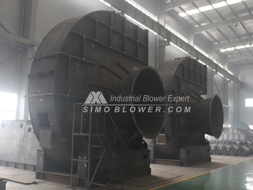 Large industrial fans to Ukraine